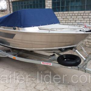 лафет для лодки